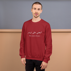 This Storm Will Pass Unisex Sweatshirt - Limitless Jewellery