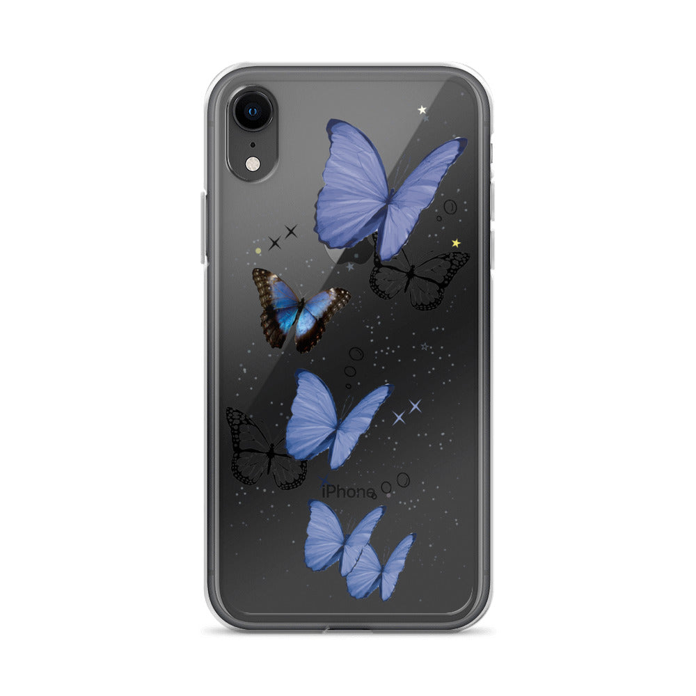 Butterfly Dreamz Transparent iPhone Case