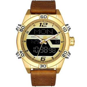 Prequal Gold Mens Watches