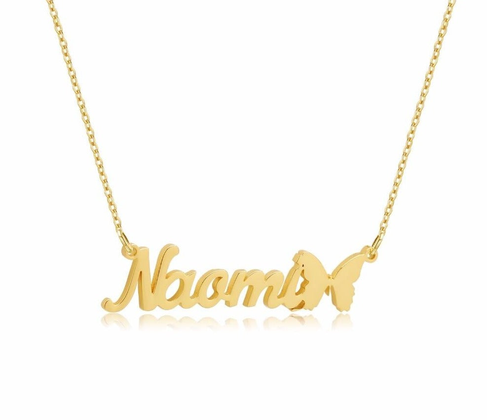 Personalized Butterfly Necklace- Limitless Jewellery