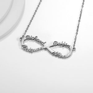 Personalized Infinity Necklace - Limitless Jewellery