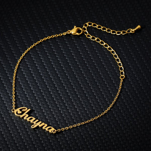 Personalized Custom Name Bracelet - Limitless Jewellery