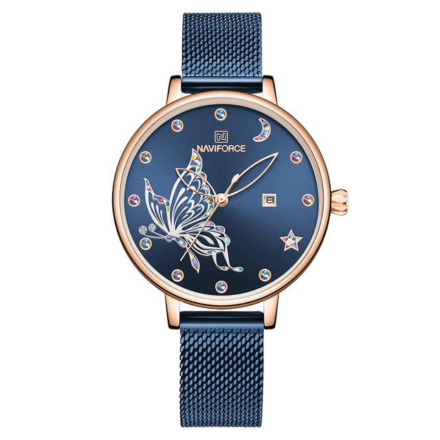 Butterfly Crystal Women Watch - Limitless Jewellery