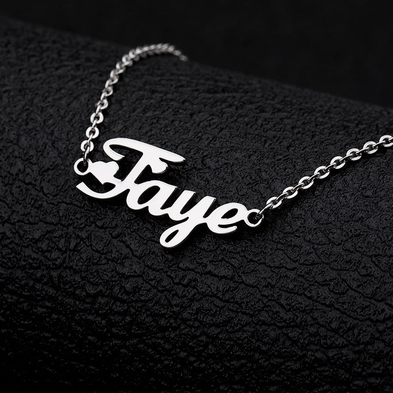 Personalized Name Anklets - Limitless Jewellery