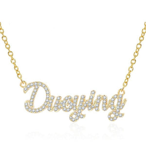 Personalized Icy Name Necklace - Limitless Jewellery