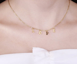 Personalized A-Z Initial Name Necklace