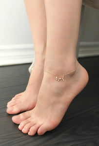 Zodiac Constellation Anklet