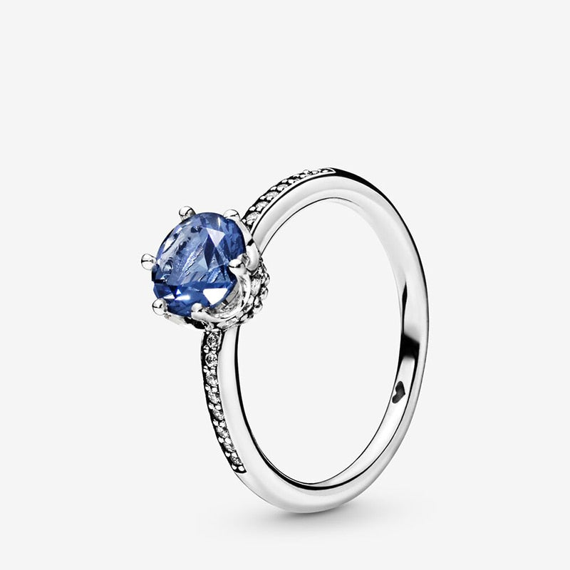 Blue Blinged Ring
