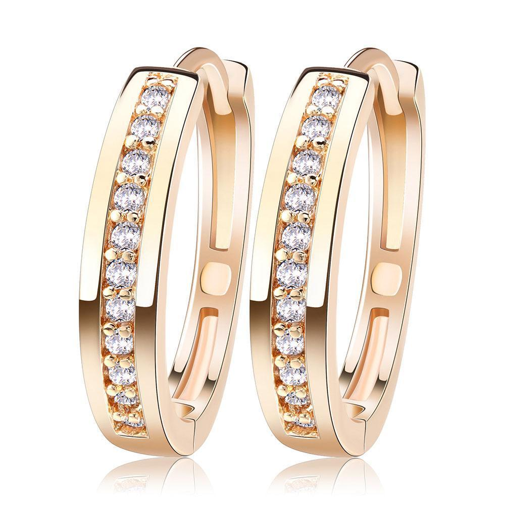 Queen Cute Romantic Style Earrings Jewelry Gold - Limitless Jewellery