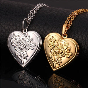Heart Locket Pendant Necklace - Limitless Jewellery