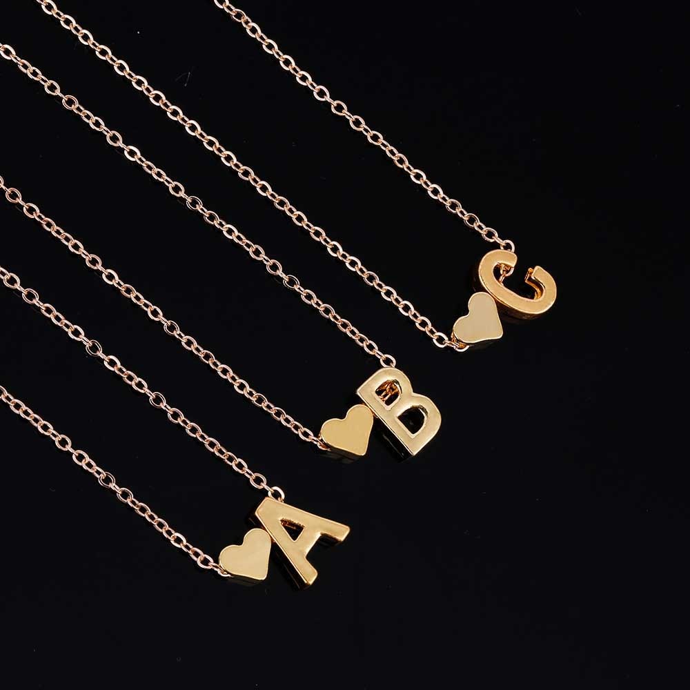 Personalized Love Heart Pendant Necklace - Limitless Jewellery