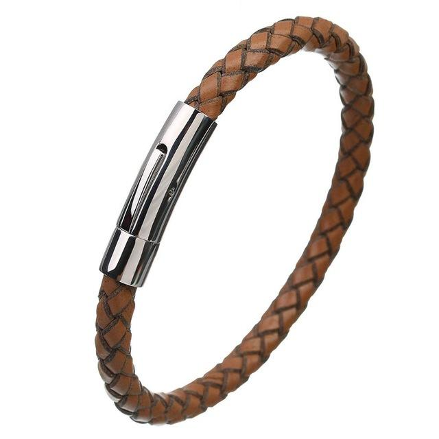 Genuine Leather Bracelet - Limitless Jewellery