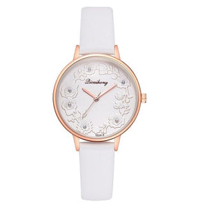 Embossed Flowers Women Watch - Limitless Jewellery
