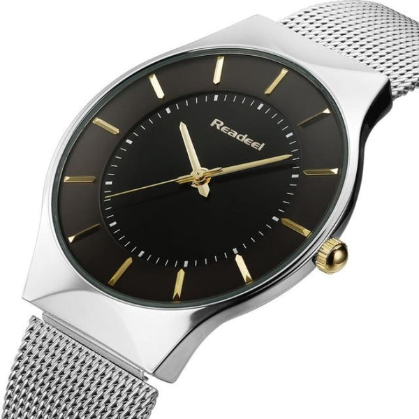 Vitality Black Mens Watches