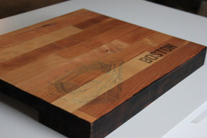 Fenway Park, Home of the Boston Red Sox, Butcher Block Cutting Board