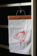 Busch Stadium, Home of the St Louis Cardinals, Stipple Art Tea Towel