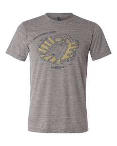 Faurot Field, Home of the Missouri Tigers, Stipple Art Shirt