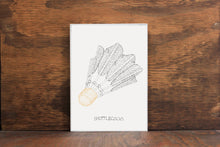 Shuttlecock - Kanas City Landmark Stipple Art Print