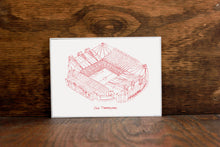 Old Trafford, Home of Manchester United, Stipple Art Print