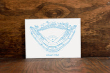 Wrigley Field - Chicago Cubs - Stipple Art Print - Baseball Art - Chicago Cubs Art - Chicago Cubs Print - Sports Decor