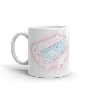 Georgia - Oregon - Nebraska - Virginia Tech - Mississippi State - Michigan - USC - Oklahoma - College Football Mug - Stipple Art