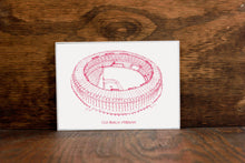 Old Busch Stadium - St. Louis Cardinals - Stipple Drawing - Baseball Art - St. Louis Cardinals Art - St. Louis Cardinals Print