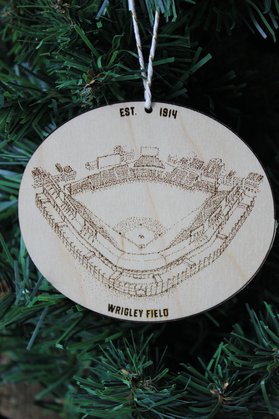 MLB Team of Your Choice - Baseball Ornament - Stipple Art - Christmas - Cardinals - Yankees - Braves