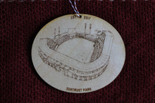 SunTrust Park - Truist Park - Atlanta Braves - Stipple Drawing Ornament - Atlanta Braves Ornament - Wood Ornament - Christmas