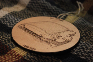 Ford Field - Detroit Lions - Stipple Drawing Ornament - Detroit Lions Ornament - Ford Field Ornament - Christmas