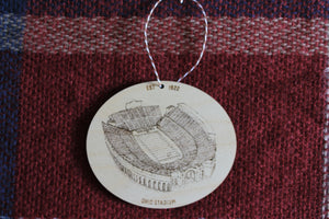 Ohio Stadium - Ohio State Buckeyes - Ohio State Buckeyes Ornament - Ohio Stadium Ornament - Christmas