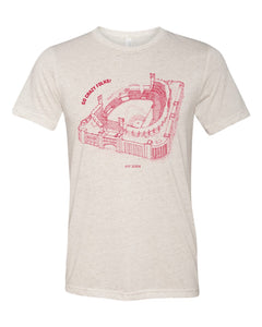 Busch Stadium, Home of the St Louis Cardinals, Stipple Art Shirt