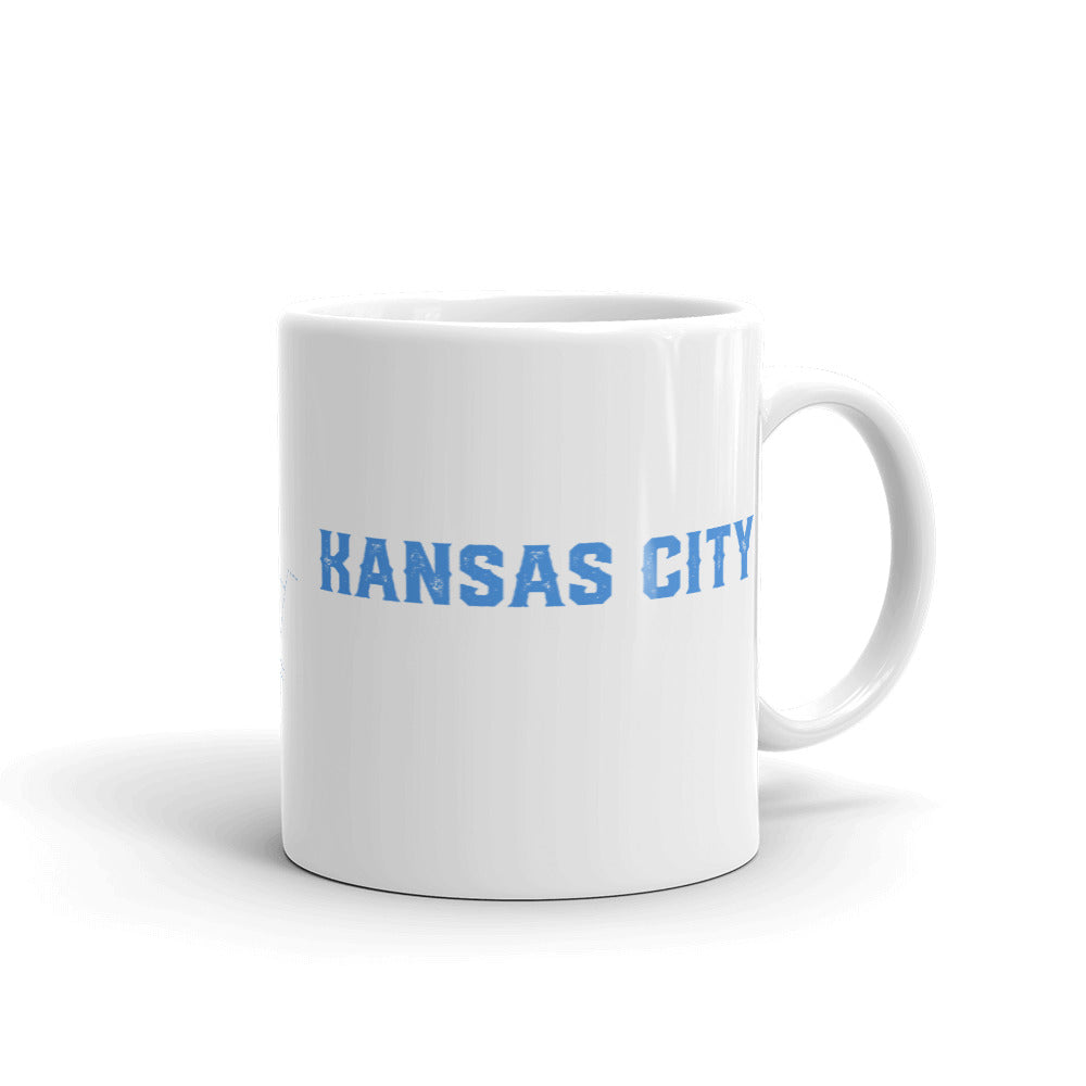 Kauffman Stadium - Kansas City Royals - Kansas City Royals Mug - Stipple Art Mug - Baseball Mug - Coffee Mug