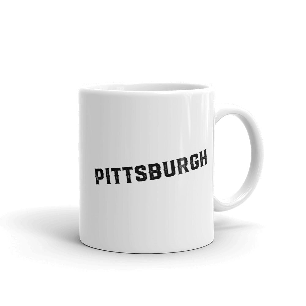Heinz Field - Pittsburgh Steelers - Pittsburgh Steelers Mug - Stipple Art Mug - Football Mug - Coffee Mug