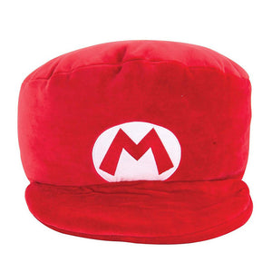 TOMY Club Mocchi-Mocchi Nintendo Mario Hat Large Cushion Plush T12961