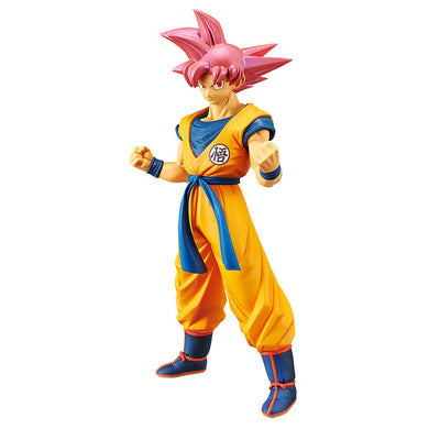 DBS Movie Choukokubuyuuden - Super Saiyan God Son Goku Figure 39032 / 10221