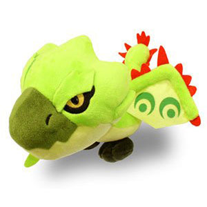 Capcom Monster Hunter Rathian / Riolea (Green) Plush, 5""