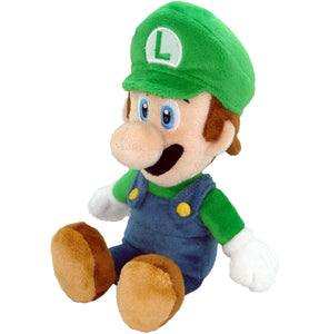 Little Buddy Super Mario Series Luigi Plush, 8""