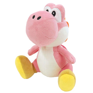 Little Buddy Super Mario All Star Collection Pink Yoshi Plush, 7""