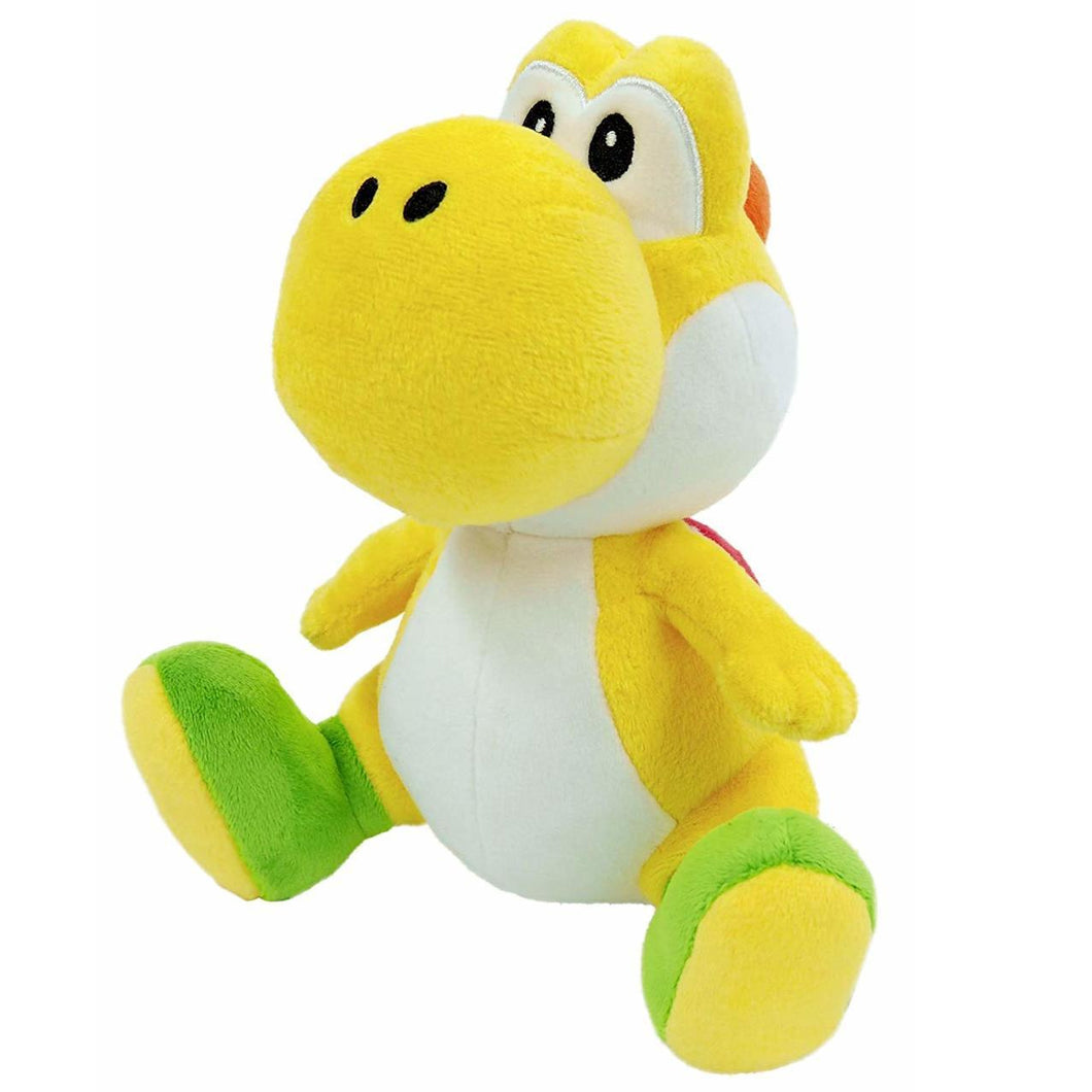 Little Buddy Super Mario All Star Collection Yellow Yoshi Plush, 7