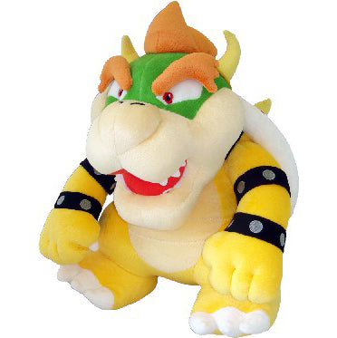 Little Buddy Super Mario Series Bowser Large Plush, 15