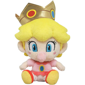 Little Buddy Super Mario All Star Collection Baby Peach Plush, 6""