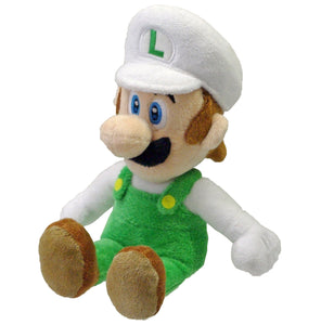 Little Buddy Super Mario Series Fire Luigi Plush, 8""