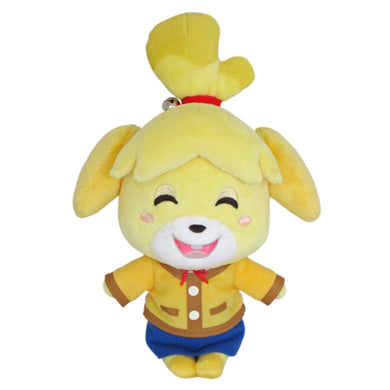 Little Buddy Animal Crossing Smiling Isabelle Plush, 8