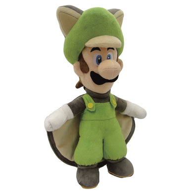 Little Buddy Super Mario Series Flying Squirrel Luigi (Medium) Plush, 15