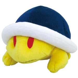 Little Buddy Super Mario Series Buzzy Beetle Plush, 4""