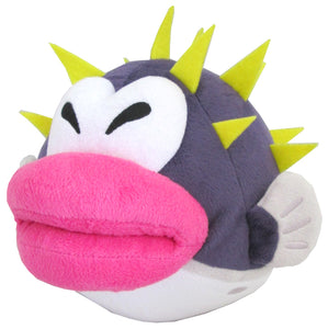Little Buddy Super Mario Series Porcupuffer Plush, 6""