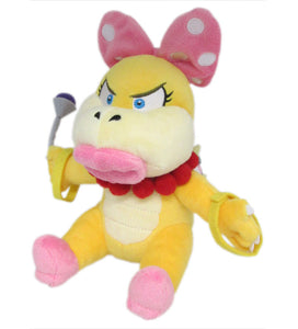 Little Buddy Super Mario Series Wendy Koopa Plush, 7""
