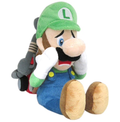 Little Buddy Super Mario Series Scared Luigi w/ Strobulb Plush, 10