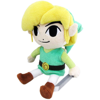 Little Buddy The Legend of Zelda - Wind Waker - Large Link Plush, 12