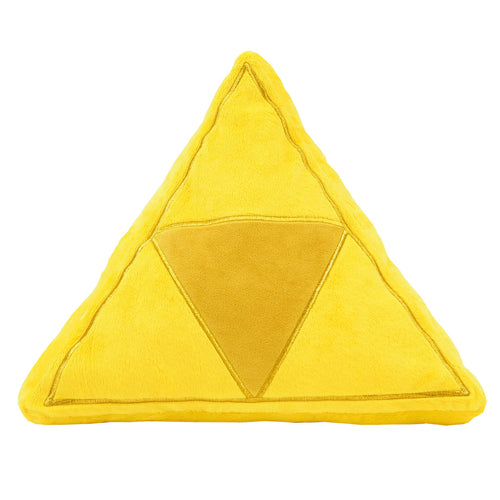 Little Buddy The Legend of Zelda Tri-Force Cushion Plush, 13.5